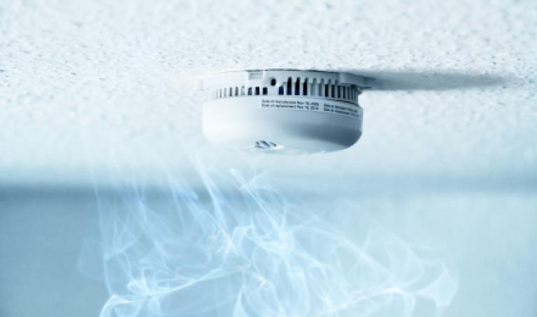 Un détecteur de fumée peut sauver la vie